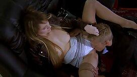 Blonde memberikan masturbasi pantat tembam melayu di atas kerusi